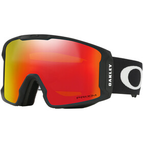 Oakley Line Miner XM Gafas de Nieve Mujer, matte black/prizm snow torch iridium